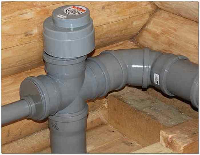 Вентиляция водопроводной системы в частном доме.