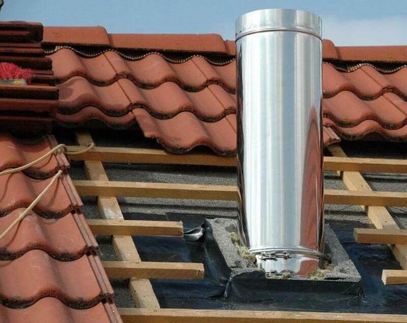 установка грибка вентиляции на крышу своими руками