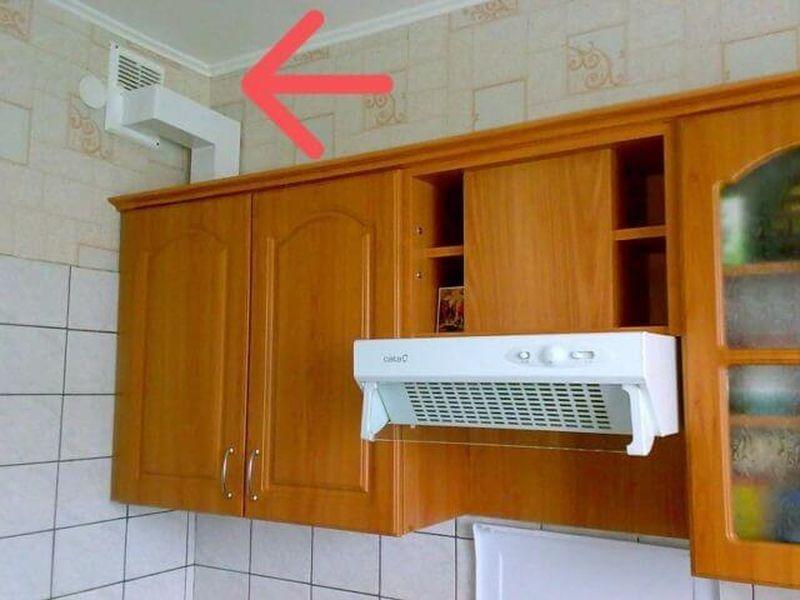 какие последствия закрытой вентиляции на кухне