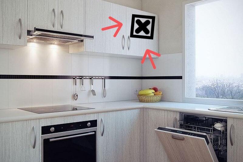 Что будет если закрыть шкафом вентиляцию на кухне