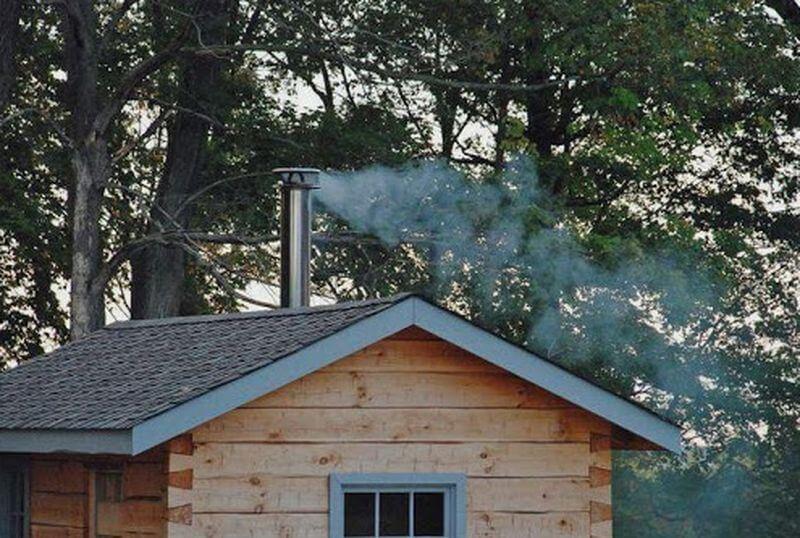 Какой материал лучше для дымохода в бане