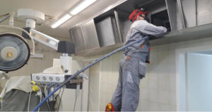 услуги чистки вентиляции