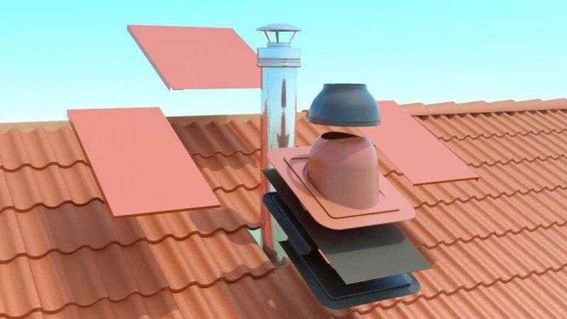 особенности конструкции узла прохода вентиляции