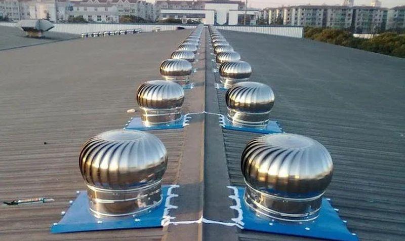 область применения турбодефлекторов