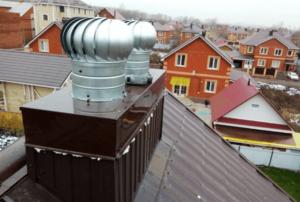 советы по монтажу и эксплуатации турбодефлектора