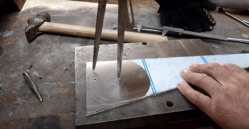как изготовить шибер своими руками