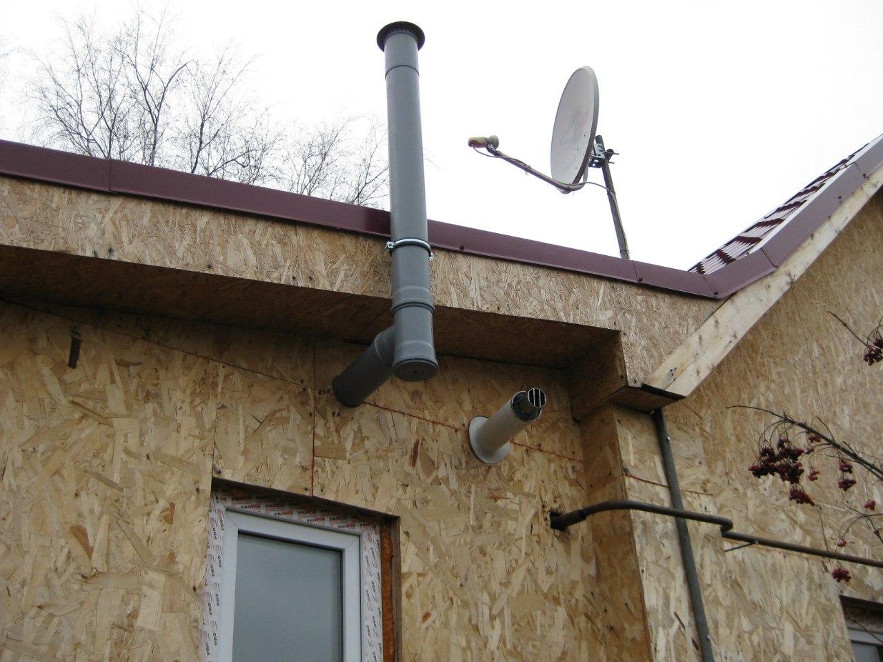 вентиляция частного дома из канализационных труб