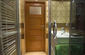 вентиляция в двери для ванной