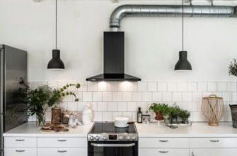 Вытяжка на кухне с отводом в вентиляцию
